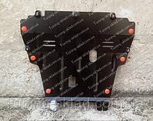 Защита картера Рено Сценик 3 (защита двигателя и кпп Renault Scenic 3)