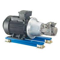 Насосные группы двигателя - IE3 Bosch Rexroth  S1 ABAPG-A4VSO (Рексрот)