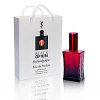 Yves Saint Laurent Black Opium ( Ив сен лоран опиум блек) в подарочной упаковке 50 мл