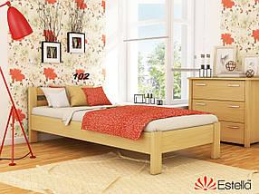 Кровать Рената односпальная Бук Щит 102 (Эстелла-ТМ)