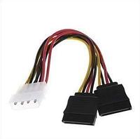 Переходник адаптер molex ide 2 sata power cable молекс