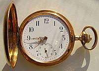 Карманные золотые часы. Репетир Швейцария нач ХХ века