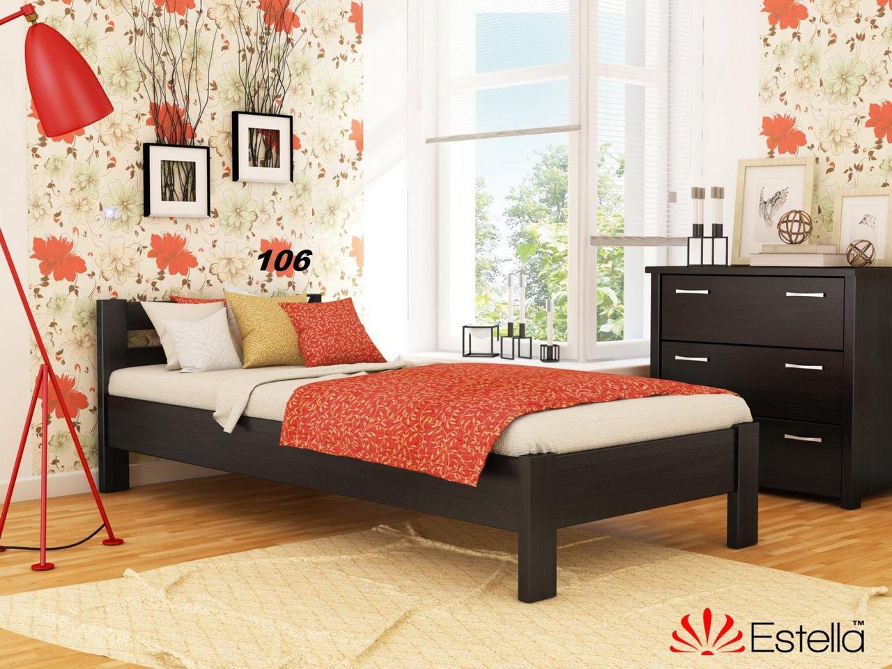 Кровать Рената односпальная Бук Щит 106 (Эстелла-ТМ)