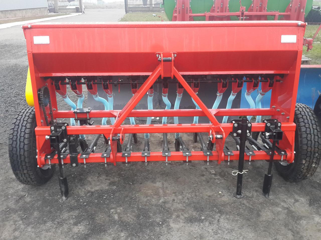 Сеялка зерновая анкерная 1,8 м колеса металические (Украина) Бр