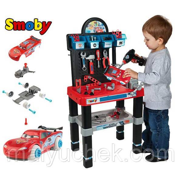 Smoby Іграшковий набір для ремонту авто 360500