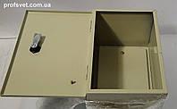 Щит металлический 200х300х200 с панелью, фото 1