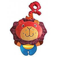 Плюшевая игрушка Baby Mix P/1143-EU00 Лев с клипсой