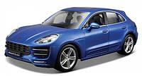 Авто-конструктор Bburago (1:24) Porsche Macan (18-25117) Синий металлик
