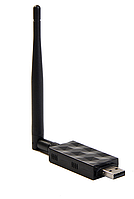 USB WI-FI сетевой адаптер USB 802.11bgn WIFI с антенной на 5дби