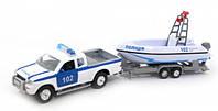 Игровой набор Технопарк Водная полиция со светом и звуком (SL767WB-SB-PP)