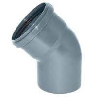 Колено ПВХ диаметр 110 х 45*