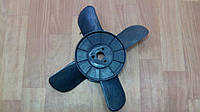 Вентилятор 2101 4 лопаст Черный (металл втулка)