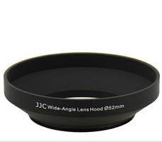 Бленда JJC LN-52W  (Ø52mm Wide Angle Lens Hood) Metal