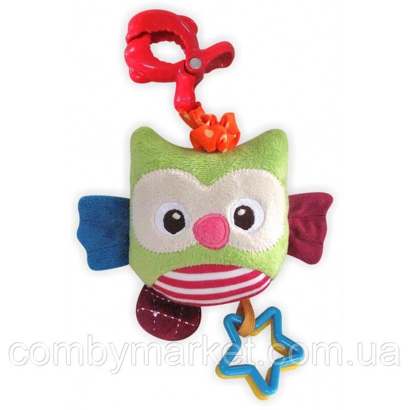 Плюшевая игрушка Baby Mix P/1145-EU00 Сова с клипсой