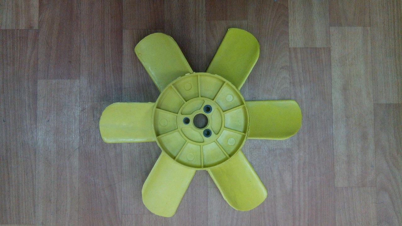 Вентилятор 2101-21 6 лопастной Желтый