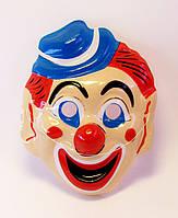 Маска пластик-Клоун