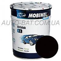 Автоэмаль однокомпонентная автокраска алкидная 601 Глубоко-чёрная Mobihel, 1 л