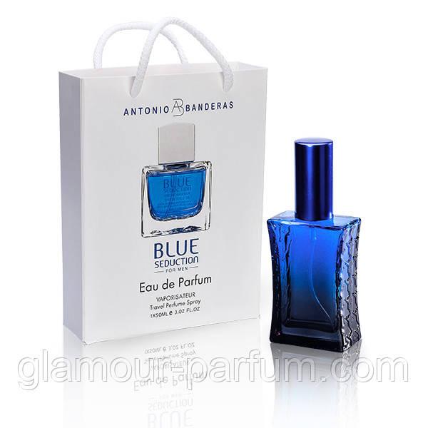 Antonio Banderas Blue Seduction (Антоніо Бандерас Блю Седакшен) в подарунковій упаковці 50 мл