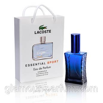 Lacoste Essential Sport Pour Homme (Лакост Эсэншал Спорт) в подарочной упаковке 50 мл (реплика) ОПТ