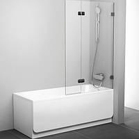 Шторка для ванны Ravak Brilliant 100 см BVS2-100 L хром+transparent 7ULA0A00Z1