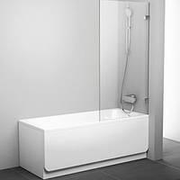 Шторка для ванны Ravak Brilliant 80 см BVS1-80 хром+transparent 7U840A00Z1