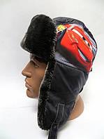 Зимняя шапка ушанка детская