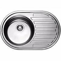 Кухонная мойка ULA HB 7108 ZS 770*500 polish