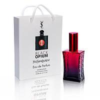 Yves Saint Laurent Black Opium (Ив Сен Лоран Блэк Опиум) в подарочной упаковке 50 мл.