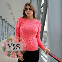 """Шерстяной свитер """"Аран"""" норма в расцветках, фото 1"""