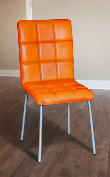 Стул Аманда оранжевый (Микс-Мебель ТМ)