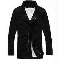 Мужская дизайнерская куртка на флисе