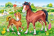 """Пазлы Castorland B-04416 """"Животные. Мамы и дети"""" 4 в 1  (B-04416), фото 4"""
