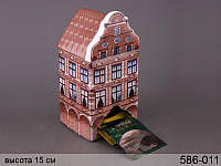 Банка для чая (чайных пакетиков) керамическая 18 см 586-011