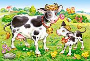 """Пазлы Castorland B-04416 """"Животные. Мамы и дети"""" 4 в 1  (B-04416), фото 5"""