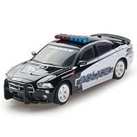 Автомодель Dodge Charher Police 2014 черный 1:26 GearMaxx 89731