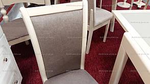 Стул обеденный  деревянный белого цвета Консул (разборной) Модуль Люкс, фото 2