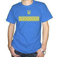 """Чоловіча футболка Вишиванка з гербом"""""""