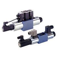 Гидрораспределители Bosch Rexroth прямого действия с электрической обратной связью 4WRA и 4WRAE   (Рексрот)