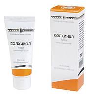 Солхинол Крем Антиаллергический (обладает выраженным антиаллергическим, противовоспалительным действием)
