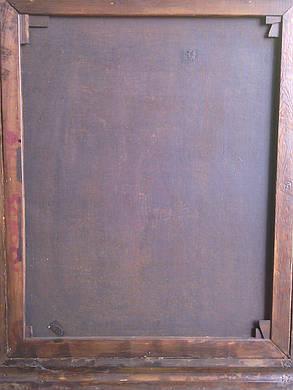 Иудаика картина Чтение Торы  M.Polarh нач.ХХ-го века, фото 2
