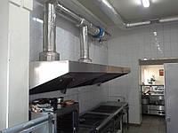 Приточно-вытяжная система вентиляции на кухне и в столовой