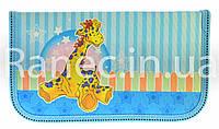 Пенал tiger Жираф 1 отделения 1326