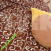 Постельное белье двуспальное (вензеля)