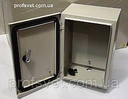 Щит металевий герметичний 300х400х200 IP54
