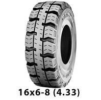 Шина цільнолита 16х6-8 (150/75-8) Forza STD  цельнолитая шина