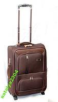 Надежный чемодан на двух колесах средний размер