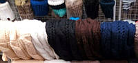 Шарф хомут крупная вязка цвета  в ассортименте