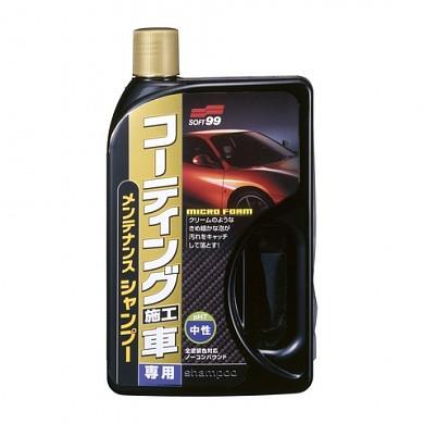 Soft99 Shampoo For Wax Coated Vehicle шампунь для авто покрытых воском