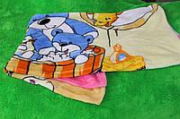 Детская простынь/одеяло из микрофибры Cloris