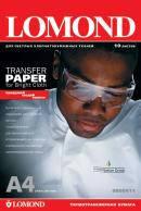 Lomond Ink Jet Transfer Paper for Bright Cloth, A4, 140 г/м2, 50 листов